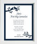 Personalised Boys First Holy Communion Print Design 2